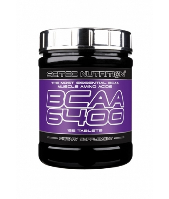 Аминокислотный комплекс ВСАА Scitec Nutrition BCAA 6400 125 tabs