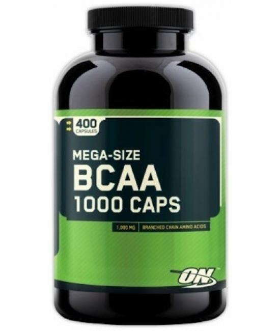 Аминокислотный комплекс ВСАА Optimum Nutrition BCAA 1000 Caps 400 caps