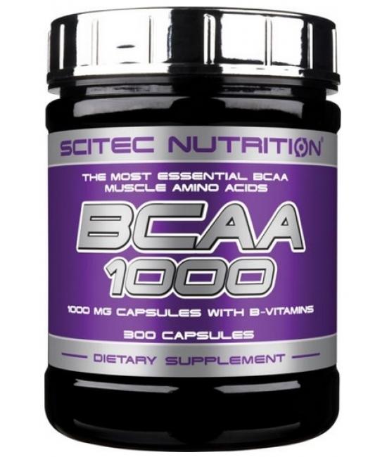 Аминокислотный комплекс ВСАА Scitec Nutrition BCAA 1000 300 caps