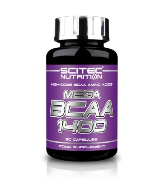 Аминокислотный комплекс ВСАА Scitec Nutrition Mega BCAA 1400 90 caps