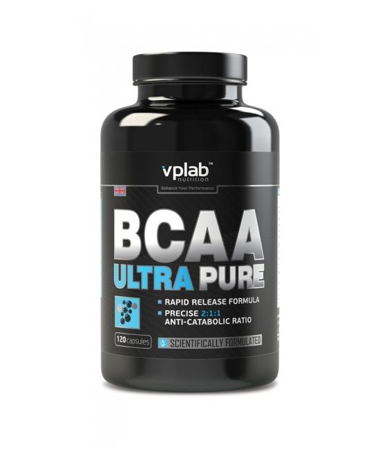 Аминокислотный комплекс ВСАА VPLab BCAA Ultra Pure 120 caps