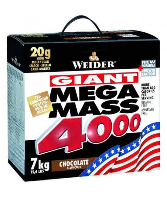 Гейнер Weider Giant Mega Mass 4000 7000 g