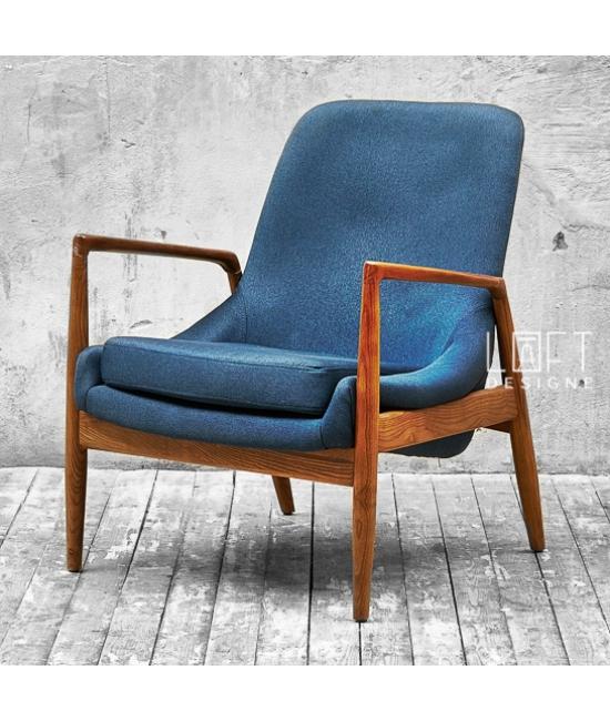 Кресло model 3512 Dark Blue