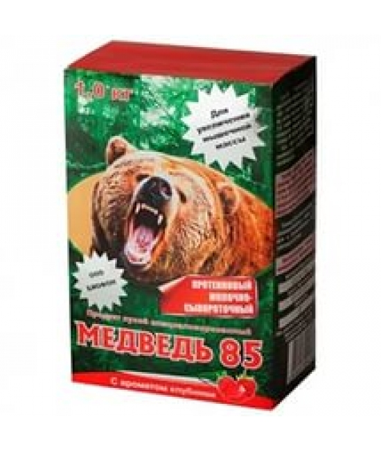 Молочно-сывороточный протеин Медведь 85 1000 гр