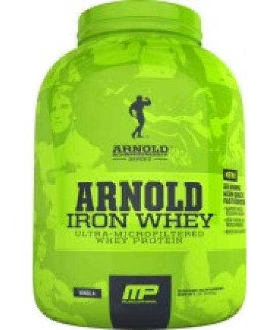 Протеин сывороточный Muscle Pharm Arnold Iron Whey 2270 g