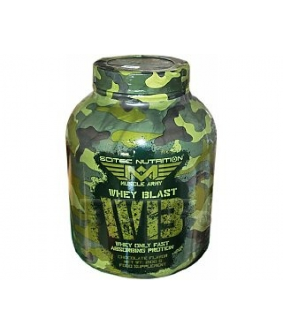 Протеин сывороточный Scitec Nutrition Muscle Army Whey Blast 2100 g