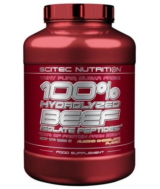 Протеин говяжий Scitec Nutrition 100% Hydrolyzed Beef Isolate Peptides 900 g