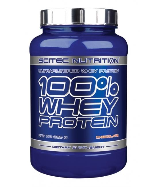 Протеин сывороточный Scitec Nutrition 100% Whey Protein 920 g