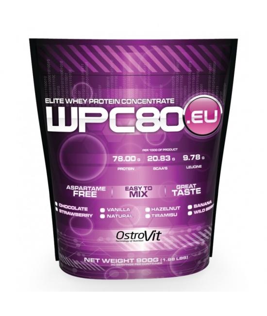 Протеин сывороточный OstroVit WPC80.eu 900 g