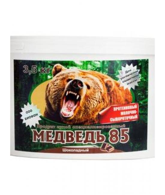 Молочно-сывороточный протеин Медведь 85 3500 гр