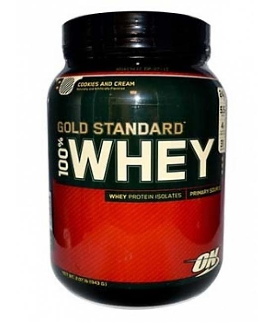 Протеин сывороточный Optimum Nutrition 100% Whey Gold Standard 909 g