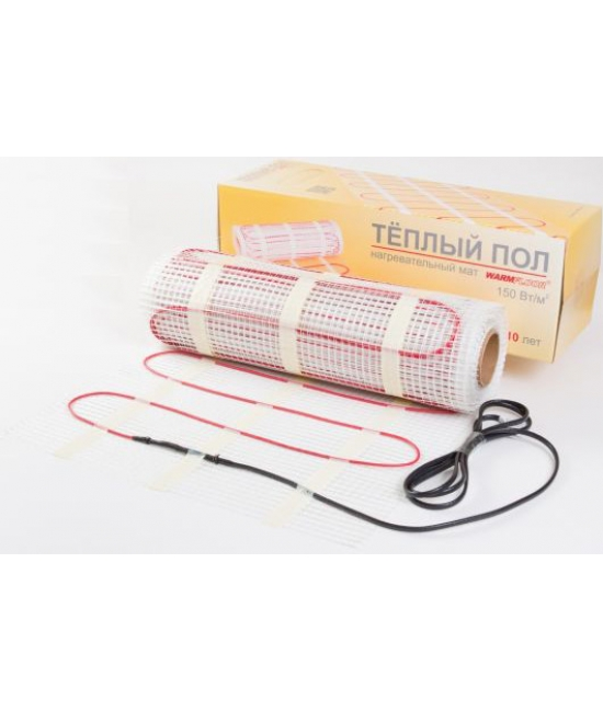 Нагревательные маты Warmfloor MinimatD 6 кв.м. 900 Вт