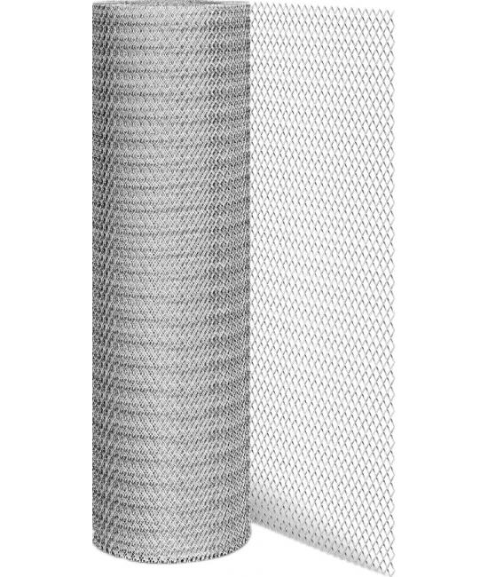 Строительная сетка Сетка-рабица оцинкованная 50х50 3мм 2x10м