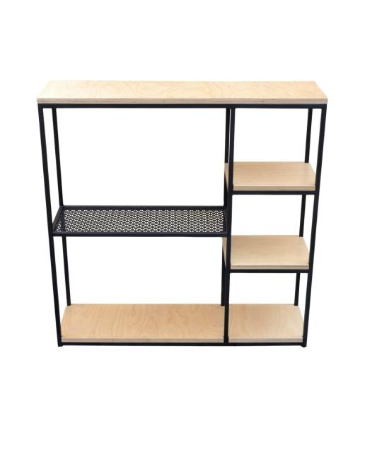 Консоль Wood Grid-3